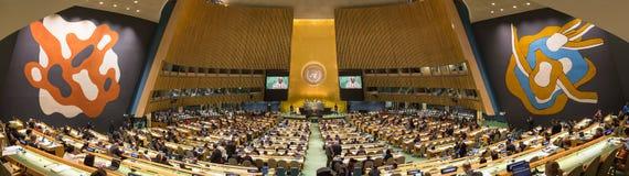 FN:s generalförsamling i New York royaltyfri fotografi
