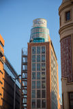 Fnac Callao. Building in Madrid, Spain Stock Photography