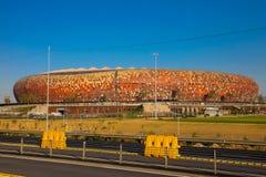 FNB-Fußball-Stadion in Soweto Stockbilder