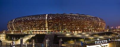 FNB Stadion - nationales Stadion (Fußball-Stadt) Stockbild