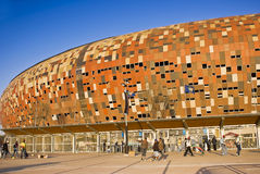 FNB Stadium - General Exterior View Royalty Free Stock Photo