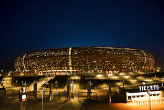 FNB Stadium - National Stadium (Soccer City) Stock Photo