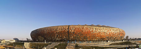 FNB Stadium - National Stadium (Soccer City) Royalty Free Stock Photos