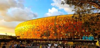 FNB Stadium widoczny 24 Marzec 2019 zdjęcia stock