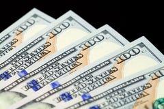 Fünfhundert Dollar Lizenzfreie Stockfotos