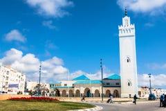 FNIDEQ-MOROCCO-MAY 5,2013: Mezquita De Fnideq, Maroko, Afryka Fotografia Royalty Free