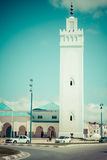 FNIDEQ-MOROCCO-MAY 5,2013:Mezquita de Fnideq, Morocco, Africa Royalty Free Stock Photo