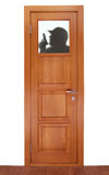 fönster för dörrkupastranger Arkivbilder