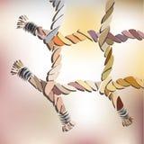 Fnuren rep, nätverk Vektor Illustrationer