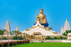 Fo Guang Shan Buddha statue. With nature Stock Photos