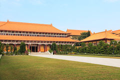 Fo Guang Shan buddist temple of Kaohsiung, Taiwan Royalty Free Stock Image