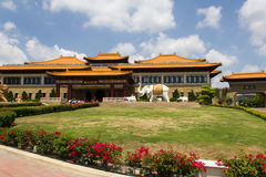 Fo Guang Shan Monastery, Kaohsiung. International chinese buddhist new religious movement based in Taiwan. Located in Dash District, Kaohsiung, the largest royalty free stock image