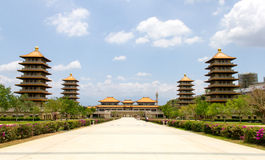 Fo Guang Shan Monastery, Kaohsiung, Taiwan Stock Images