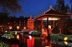 Fo Guang shanu Dong Zen świątynia Zdjęcia Royalty Free