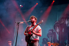 Foals band in concert at Dcode Festival Stock Photography