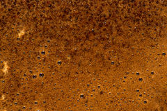 The foam. Background from coffee facilities, the foam Stock Image