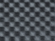 Foam, background, texture, deepening. Gray foam with waffle pattern Stock Photos
