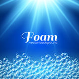Foam Background Royalty Free Stock Photography