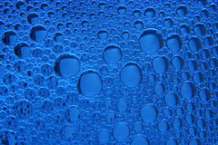 Foam on blue Royalty Free Stock Photos