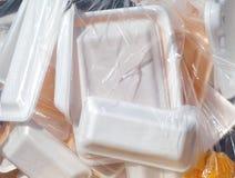 Foam box Royalty Free Stock Photo