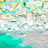 Foam bubbles abstract background. Foam bubbles colorful abstract background Royalty Free Stock Image
