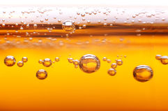Foam and bubbles of beer. Foam and bubbles of beer to the project Royalty Free Stock Photo