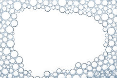 Foam bubbles macro texture Stock Photos