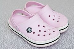 Free Foam Clog Crocs Children Shoes Royalty Free Stock Photo - 140879155