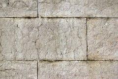 Foam Concrete Block Wall Stock Photo