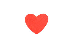 Foam heart shapes on white background as design. For Valentine`s Day Stock Images