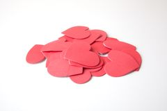 Foam Hearts Royalty Free Stock Photo
