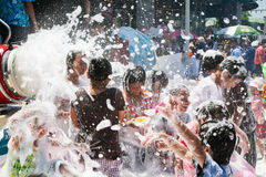 Foam Party Stock Photos