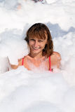 Foam party Royalty Free Stock Photos