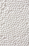 Foam plastic background Stock Image