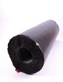 Foam rubber insulation tube Royalty Free Stock Images