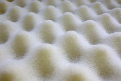 Foam rubber  relief. Foam rubber of yellow color forms a relief Royalty Free Stock Photo