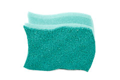 Foam rubber sponge isolated Stock Images