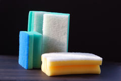 Foam rubbers Stock Photo