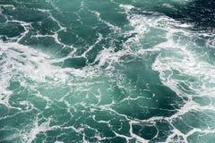 Foam in seawater Stock Photos