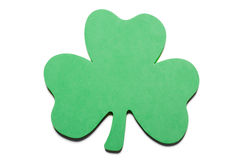 Foam shamrock Stock Photos