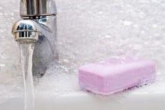 foam sink soap Στοκ Φωτογραφίες