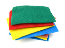 Foam sponge Royalty Free Stock Photos