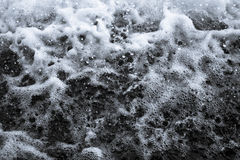 Foam texture Royalty Free Stock Photography