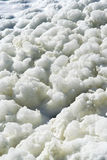 Foam on the water Royalty Free Stock Photography