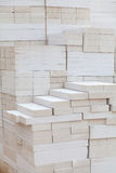 Foamed concrete block Royalty Free Stock Images