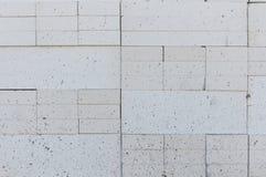 Foamed concrete block Stock Photos