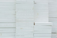 Foamed concrete blocks Stock Photo