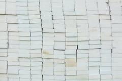Foamed concrete blocks Royalty Free Stock Image