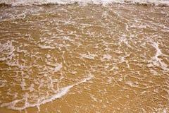Foamed sea wave Stock Photos