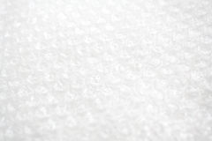 Foamed white plastic Royalty Free Stock Image